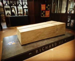 The Tomb of King Richard III at Leicester Cathedral