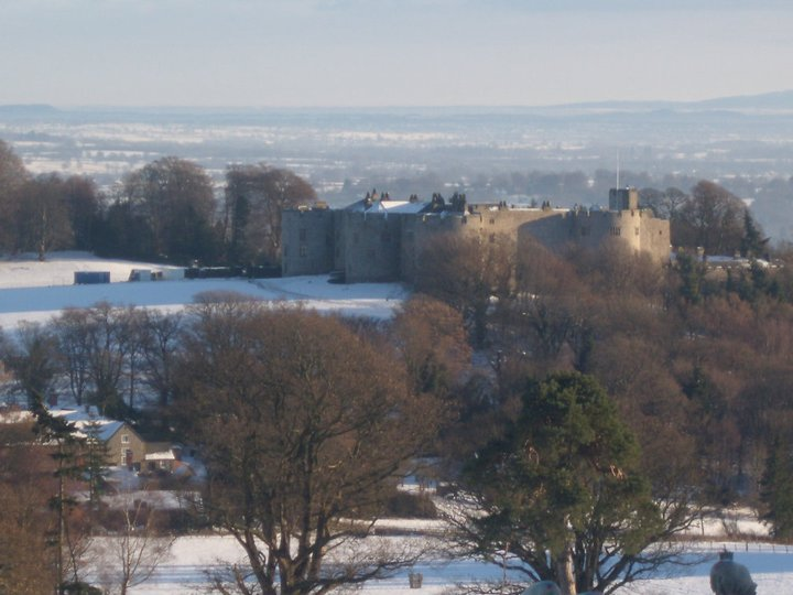 Chirk Castle, north Wales