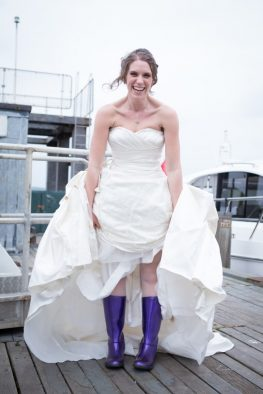 My Wedding Day Wellies