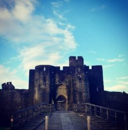 Catch me at Caerphilly Castle this week!