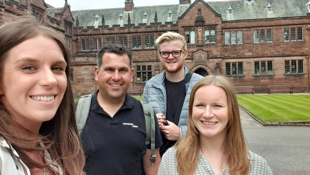 Eastwood Media at Gladstone's Library